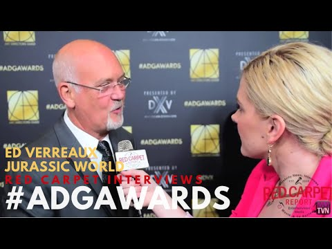 Ed Verreaux JurassicWorld at the 20th Annual Art Directors Guild Awards ADGawards
