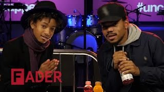 Chance The Rapper & Willow Smith - Artist on Artist (interview at vitaminwater #uncapped)