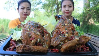 Cooking chicken roasted with chili soup recipe - Cooking skill