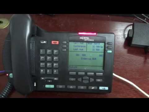How to do a conference call on a Nortel IP phone