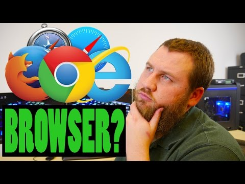 What is a Browser? Windows Chrome/Firefox/Edge 2016