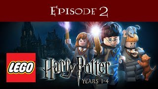 Let's Play LEGO Harry Potter Years 1-4 Part 2: Hoggy Warty Hogwarts