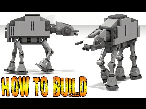 Lego Star Wars At At Walker Instructions Youtube