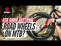 Can I Fit Road Wheels To My Mountain Bike For Commuting? | Ask GMBN Anything About MTB