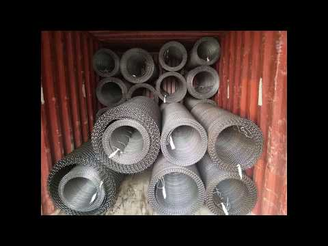 Heavy crimped wire mesh specifications crimped wire mesh specifications mine industry mine screen