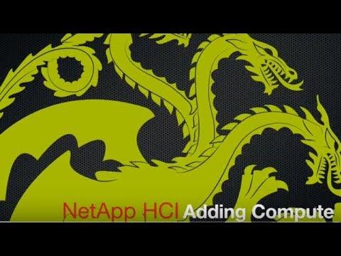 NetApp HCI Adding Compute