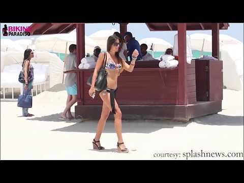 Claudia Romani - The Hottest & Sexiest Beach Moments (Stripping & More) 2