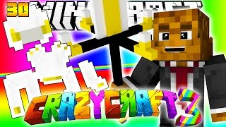 Minecraft CRAZY CRAFT 3.0 - QUEEN SCALE ARMOR BEATING TIER 6 CHALLENGE DUNGEON #30