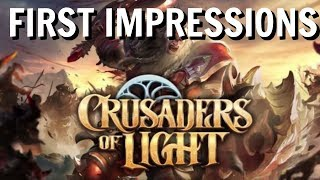 Crusaders of Light 2018 Gameplay and Impressions