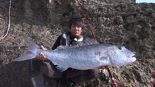 #221 磯釣り豪快スタンディングファイト! 沖縄県波照間島のビッグゲーム