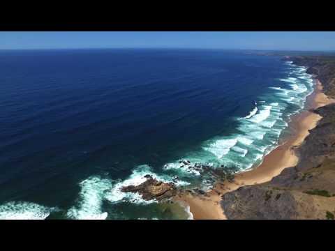 Castelejo Beach Algarve  Portugal by Drone Mavic Pro