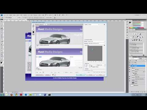 Slice Photoshop Image And Create Html And Css Website. (Part 1)
