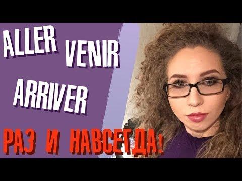 Aller, Venir или Arriver? Как быстро запомнить эти глаголы раз и НАВСЕГДА | Елена Кундера
