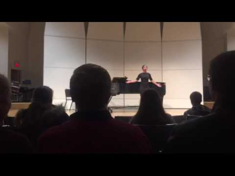 God Says Yes by Thomas McMillan (Graduate composer student at UNCSA)