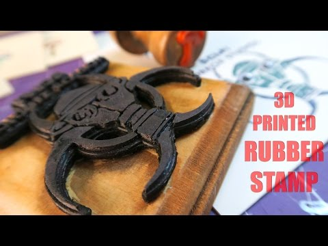 Making A 3D Printed Rubber Stamp