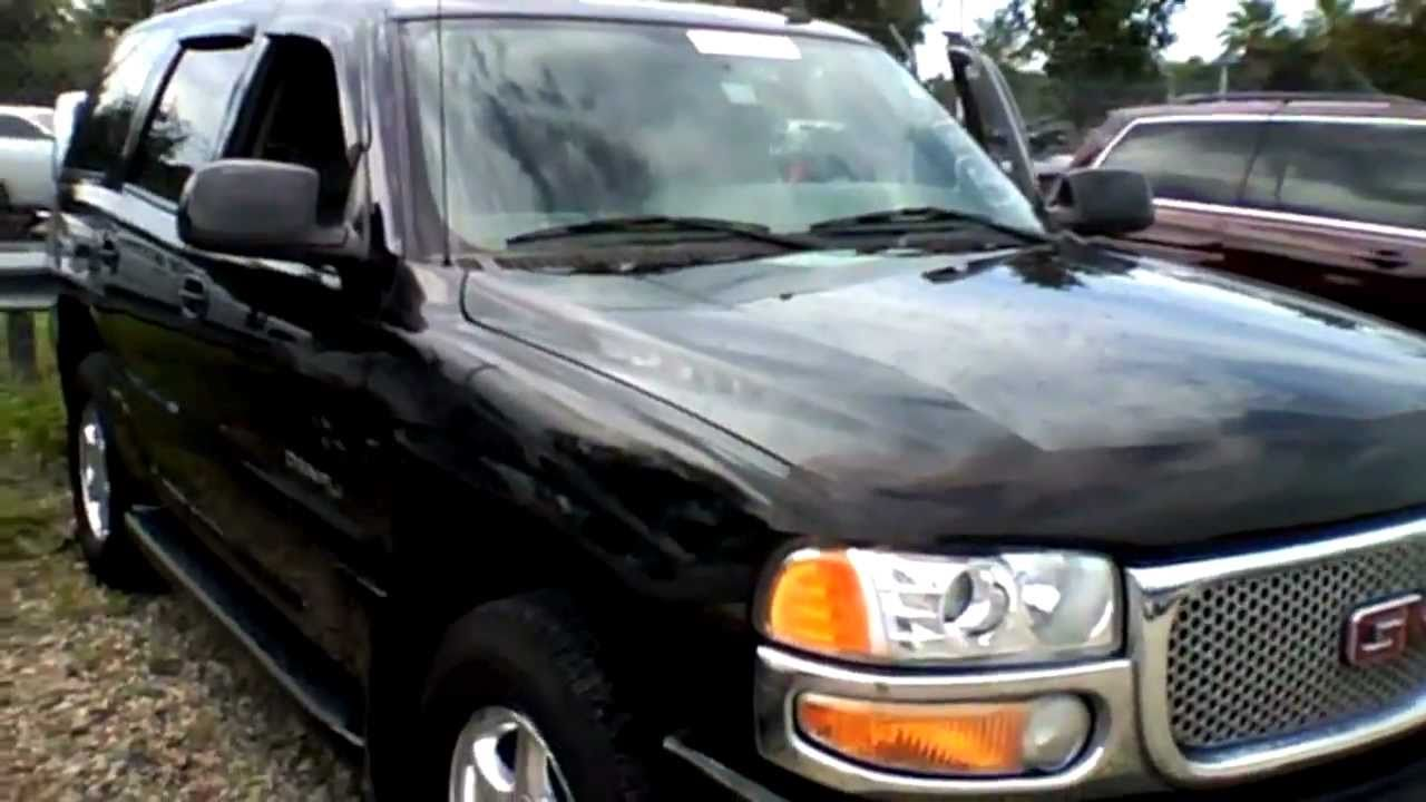 hight resolution of 2006 gmc yukon denali awd start up quick tour rev with exhaust view 126k youtube