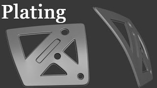 3D Tutorial #161 - Subdivide and Straighten, Plating