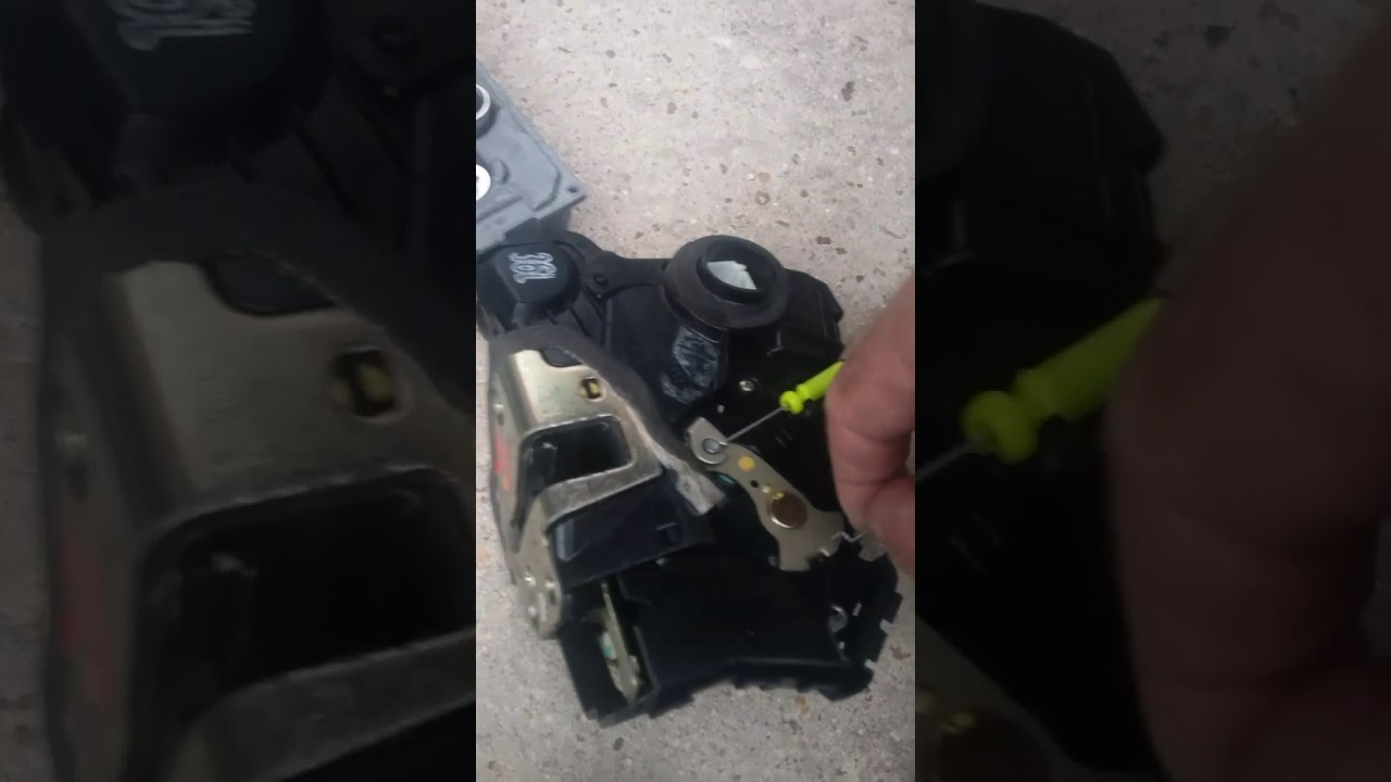 2014 Scion Xb Door Lock Repair Part 1 Youtube