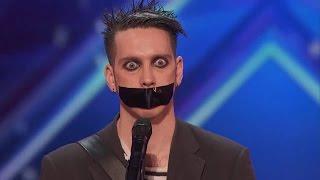 Необычное прослушивание на шоу Британия имеет талантов Язык тела 2016