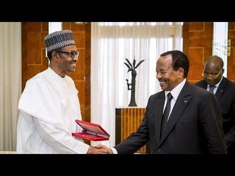 Security tops agenda as Cameroon's Biya visits Nigeria