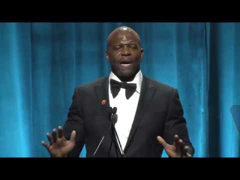 Terry Crews Accepts the Voice of Courage Award at our 2018 Champion Awards