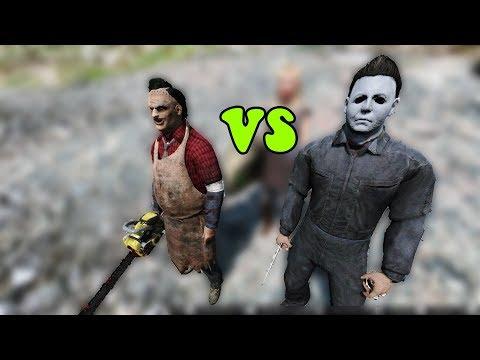 GTA 5 - Michael Myer lừa Leatherface ăn hành   GHTG