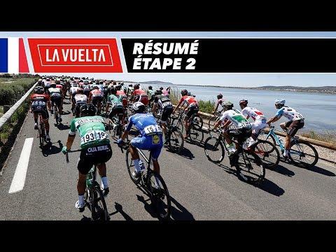 Résumé - Étape 2 - La Vuelta 2017