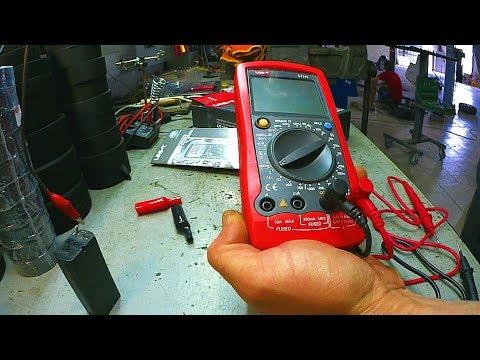 Автомобильный мультиметр UT105 в работе. Распаковка, обзор функций.