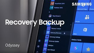 How to Create a Samsung Recovery Backup on Your Notebook Odyssey