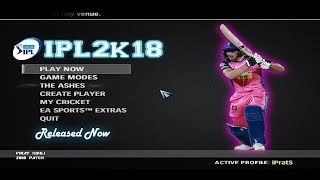 VIVO IPL 2018 Patch for EA Sports Cricket 2007 Released