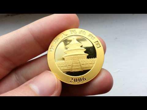 Gold Panda Bullion Coin 2010 HD