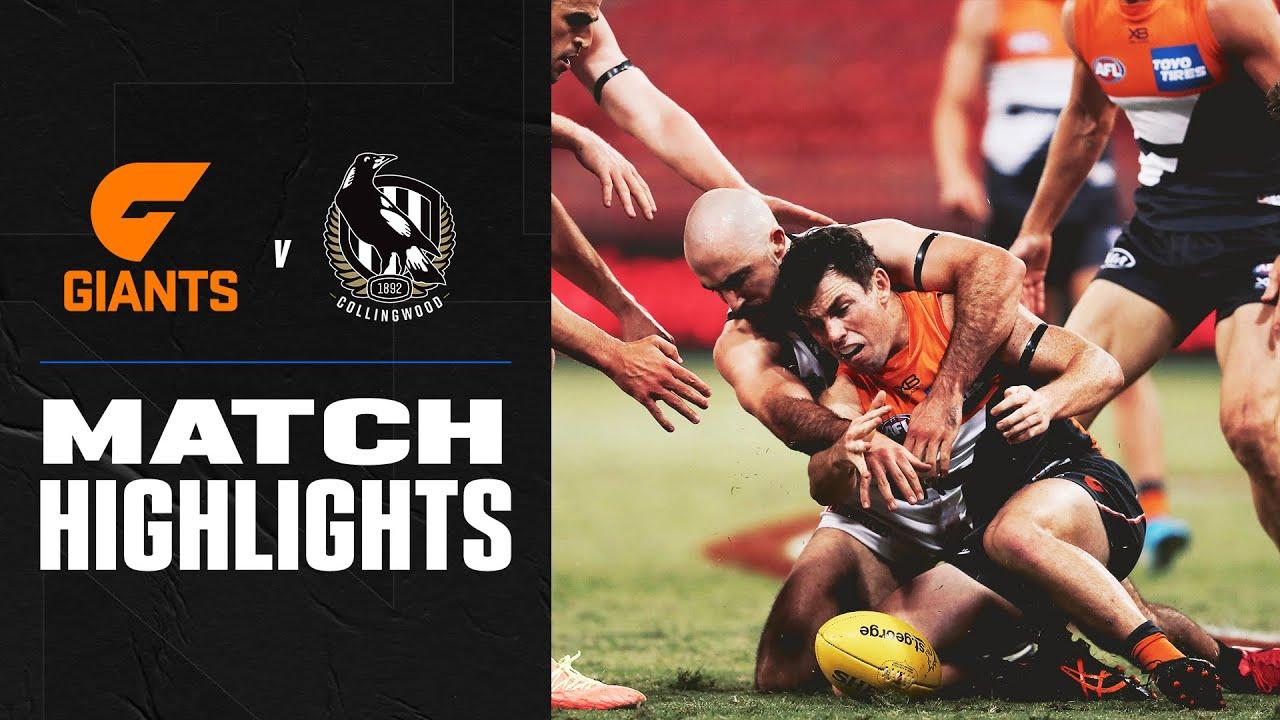 GWS Giants v Collingwood Highlights | Round 4, 2020 | AFL ...