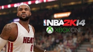 NBA2K14 Xbox One 1080 HD Gameplay