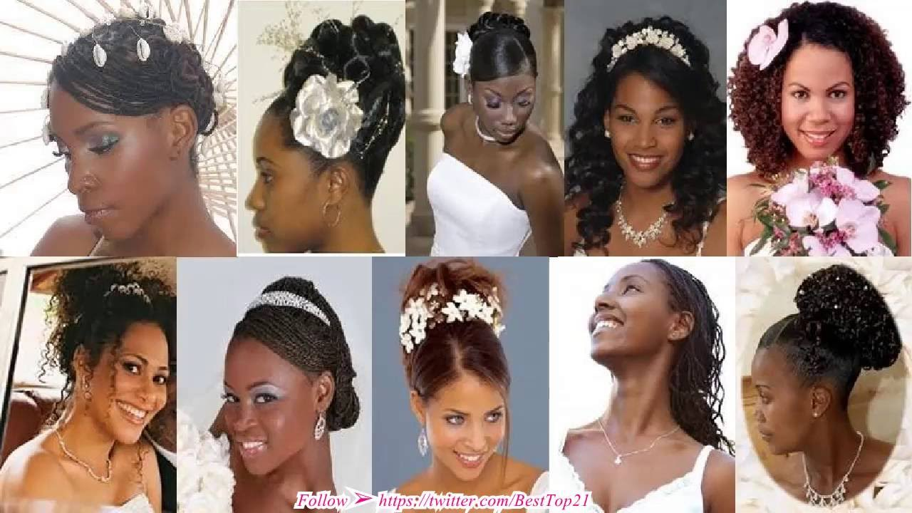 Best wedding hairstyles for black women - YouTube