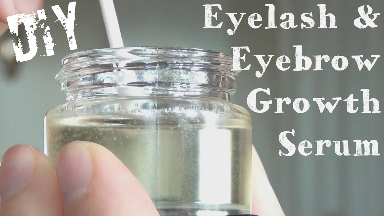 98fff20319d Eyelash And Eyebrow Growth Serum ♥ DIY - YouTube
