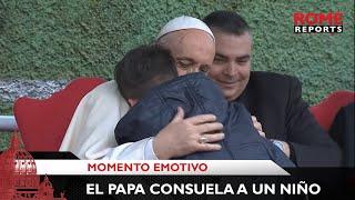Papa Francisco consuela a un niño que preguntó si su padre, que era ateo, está ahora en el Cielo