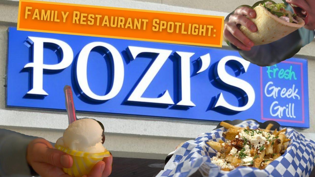 "MEDITERRANEAN SAMPLER at ""Pozi's Fresh Grill"" (Family Restaurant Spotlight)"