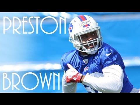 The Cardinal Draft - Preston Brown - Highlights