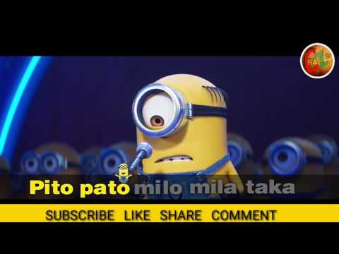 MINIONS SONG'S KARAOKE CHALLENGE | DESPICABLE ME 3 | BY CRAZEEE