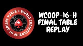 WCOOP 2018 | $25,000 PLO High Roller Event 16-H: Final Table Replay