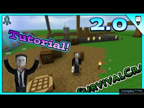 Como hacer muebles (Furniture) / Survivalcraft 2 - 2.0 Tutorial