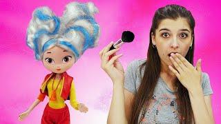 Куклы Сказочный Патруль - Алёнка покрасила волосы! - Игры для девочек в видео шоу Ох, уж эти куклы.