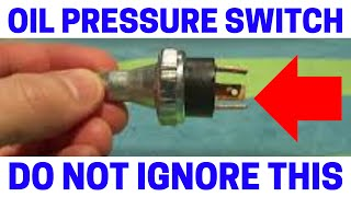 Low Oil Pressure Sensor Almost Destroyed My Engine!