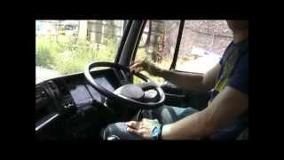 Тягач Ниссан Дизель ( Nissan Diesel UD ) Мини тест-драйв!