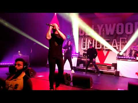 HOLLYWOOD UNDEAD *BEEN TO HELL* @ THE PLAZA  ORLANDO 10317