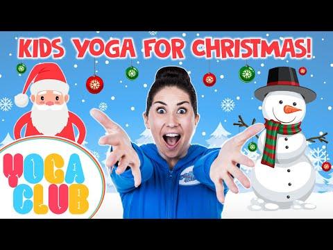 Kids Yoga For The Holidays ? Yoga Club (Week 20) | Cosmic Kids
