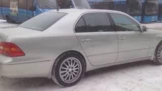 Lexus LS 2003 zima