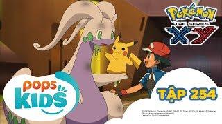 Pokémon Tập 254 -  Satoshi Đấu Với Shitoron! -Hoạt Hình Tiếng Việt Pokémon S18 XY