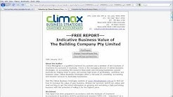 Free Business Valuation Calculator - Climax Business Strategies Chartered Accountants