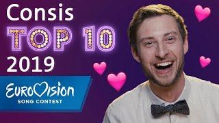 ESC 2019: Consis persönliche Top 10   Eurovision Song Conte...
